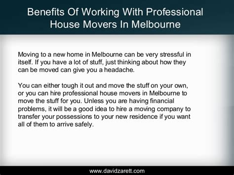 professional house movers benefits of working with professional house movers in melbourne