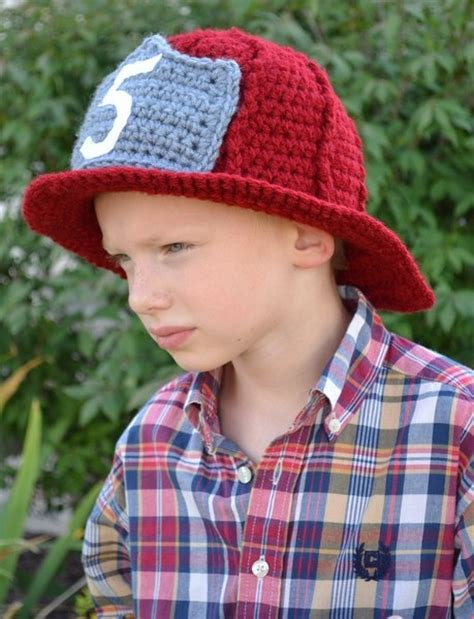 knitted fireman hat pattern 12 best images about crochet fireman on