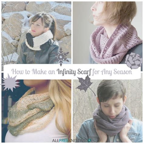 how to make an infinity scarf how to make an infinity scarf for any season 15 free knit