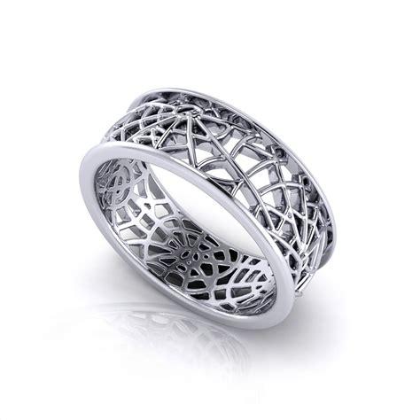 I Ring Keropy 1 spider web wedding ring jewelry designs