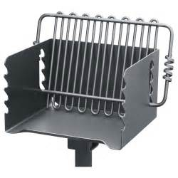 pilot rock steel park style backyard charcoal grill 16 1