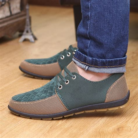 Sepatu Flat Grey Lace new 2017 canvas shoes breathable casual shoes fashion