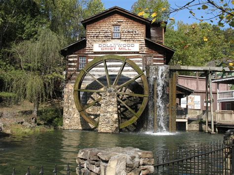 dollywood grist mill if you have never been to dollywood you should give it a try grist mills