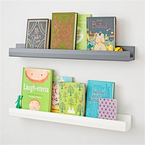 wall shelves for books kids shelves wall cubbies the land of nod