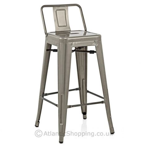 replica tolix counter stool with backrest replica tolix with back kitchen breakfast bar stool ebay