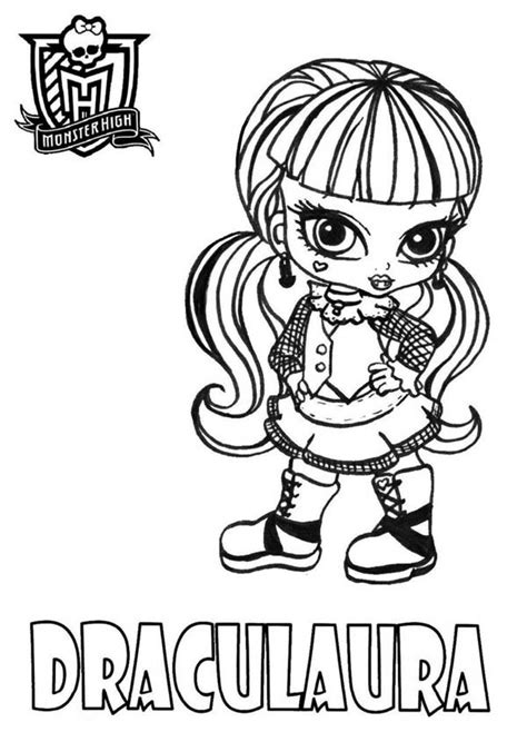 monster high coloring pages baby draculaura monster high draculaura coloring page get coloring pages