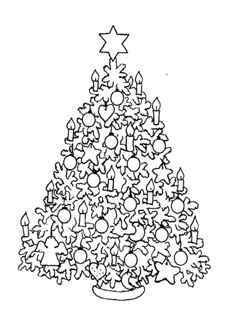 coloring pages for adults christmas tree christmas tree coloring pages online coloring home