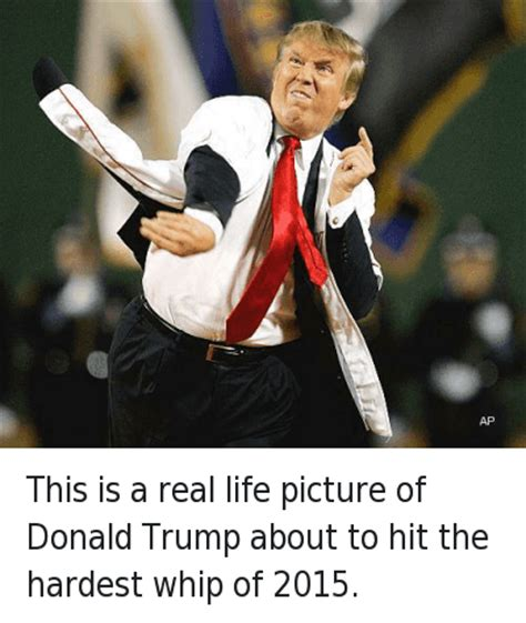 donald trump real biography this is a real life picture of donald trump about to hit