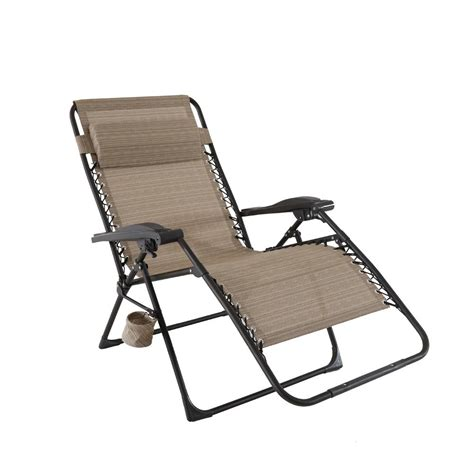 sling chaise lounge chair hton bay mix and match oversized zero gravity sling