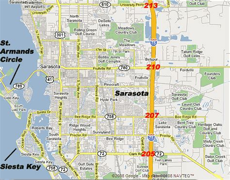 map of sarasota florida sarasota map travelsfinders