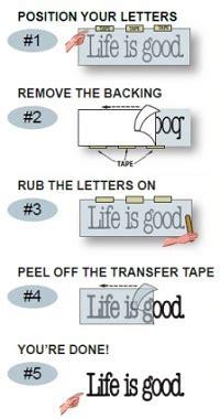 Vinyl Lettering Application
