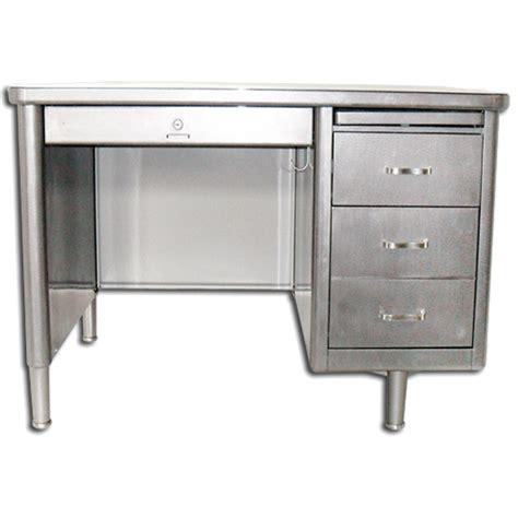 Retro Office Desks Steelcase Single Pedestal Tanker Desk Vintage Steel Desk Vintage Metal Desk