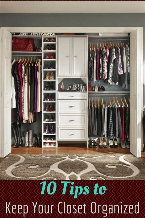 How To Keep Your Closet Organized by 10 Ways To Keep Your Closet Organized