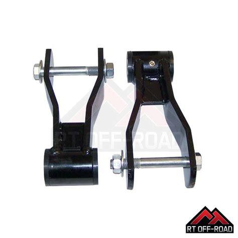 Jeep Xj Shackle Lift Hd Greasable Lift Shackle Kit Xj 52000507khd Jeepey