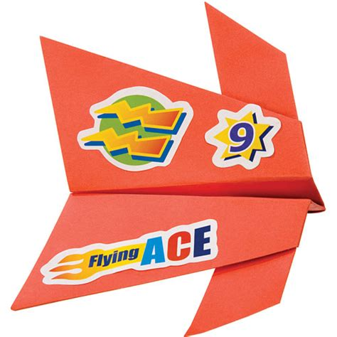 Fold N Fly Paper Airplanes - fold n fly paper airplanes talbots toyland