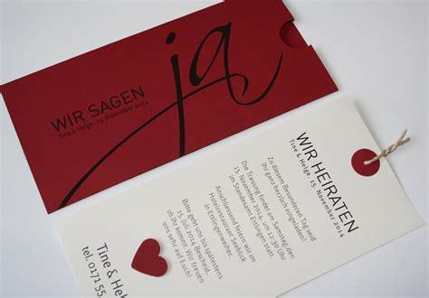 Hochzeitskarten Rot by Kirchenhefte Hochzeit Aylando Hochzeitskarten