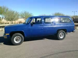 find used 1985 chevy suburban k20 3 4 ton 4 wheel drive in