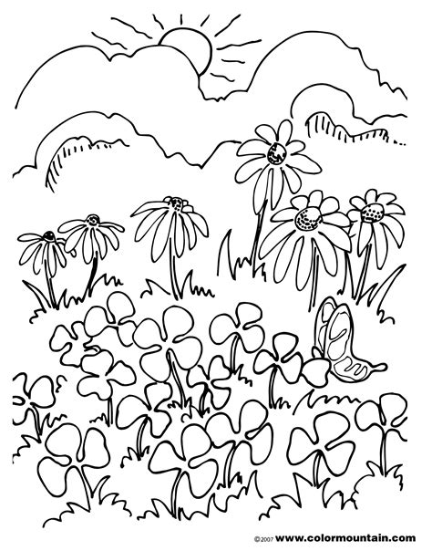 field day coloring activities coloring pages
