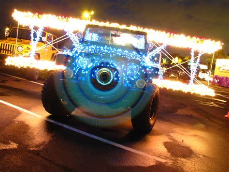 aps light parade jeep