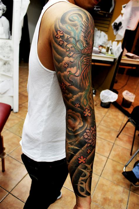 chinese sleeve tattoo designs asian sleeve 2 by richroyalty on deviantart