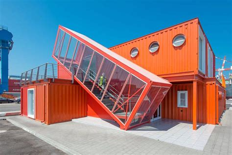 Modern Box House by Shipping Container Offices Around The World Big Box