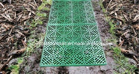 china plastic garden path covering tiles pld 1 china plastic tiles path mold