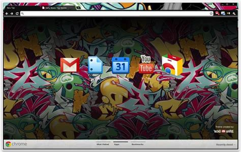 Theme Chrome Ecko | the top chrome themes of all time brand thunder