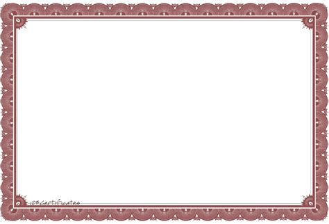 Free Png Card Templates by Certificate Template Png Transparent Certificate Template