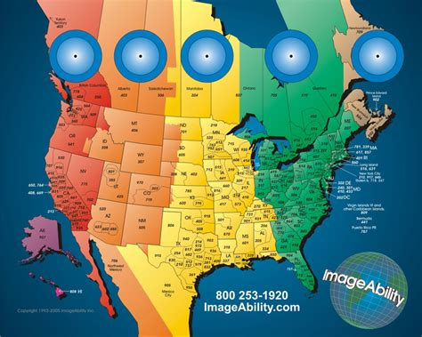 united states timezone map usa time zones map of america with area codes picture