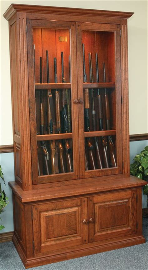 Free Woodworking Plans For Gun Cabinets
