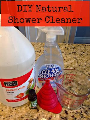 homemade natural bathroom cleaner the healthy sooner diy natural daily shower cleaner