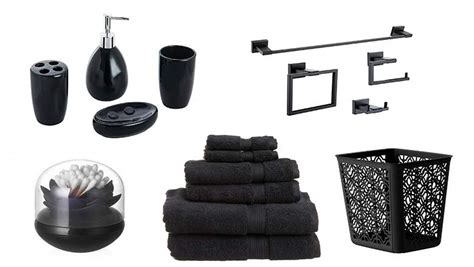 Best Bathroom Accessories Top 10 Best Black Bathroom Accessories Heavy
