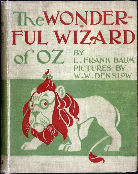 the wizard of oz picture book 1900 to 1950 books that shaped america exhibitions