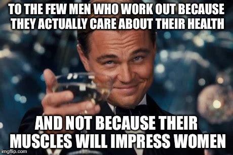 Muscle Man Meme - leonardo dicaprio cheers meme imgflip