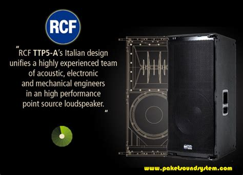 Speaker Aktif Line Array solusi sound system line array point source aktif rcf ttp5 a paket sound system profesional