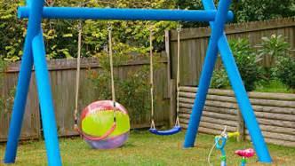 Big Backyard Lexington Wood Gym Set - how to make a kids swing https au lifestyle yahoo com better homes gardens diy h 16463157 how