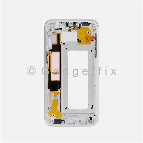 Handphone Samsung Galaxy Frame Silver Samsung Galaxy S7 Edge G935a G935t Middle Housing Frame Bezel Mid Chassis 352094550860