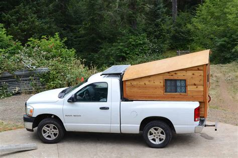 Diy Micro Camper pickups with campers archives the shelter blog