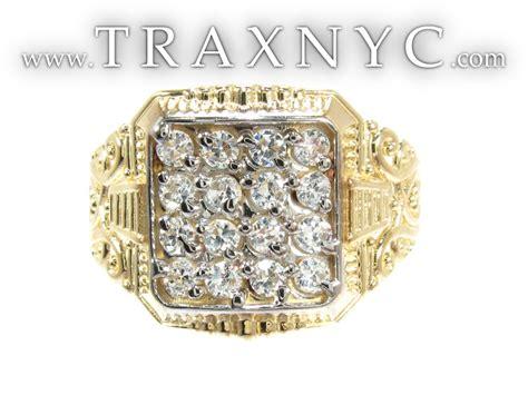 mens cheap big gold ring cheap mens ring yellow gold 10k