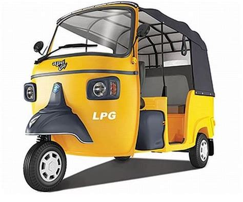 Piaggio Auto by Piaggio Ape City Smart Auto Rickshaw Information With
