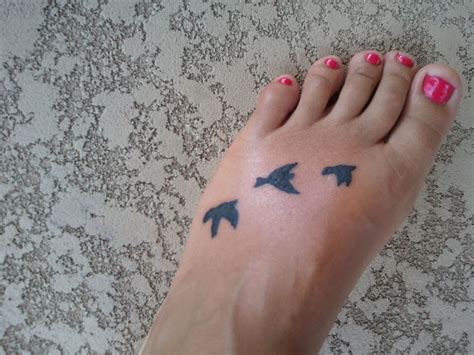 small bird tattoos on foot small ideas small bird tattoos designs and
