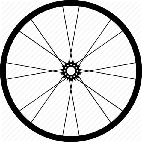Bicycle Wheel Outline by Bicycle Wheel Png