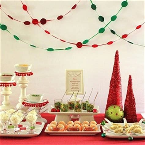 holiday entertaining series christmas red green