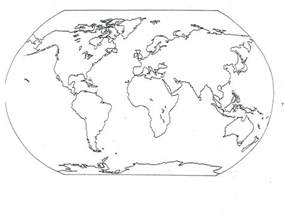 free printable world map coloring pages for kids best