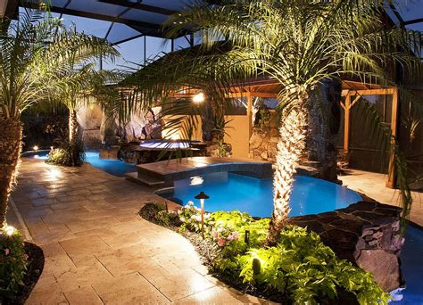 small tropical backyard ideas 25 fascinating pool bridge ideas that leave you enthralled