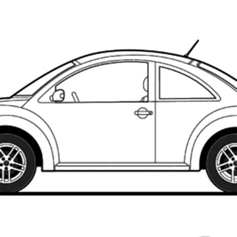 printable coloring pages vw bug volkswagen beetle coloring page free printable coloring