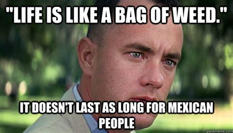 Funny Memes About Weed - quot life is like a bag of weed quot it doesn t last as long for