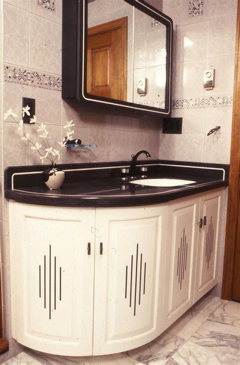 Art Deco Bathroom Vanity Spaces Modern With Art Deco Art Deco Bathroom Furniture