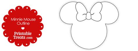 minnie mouse ears coloring page minnie mouse head outline cliparts co