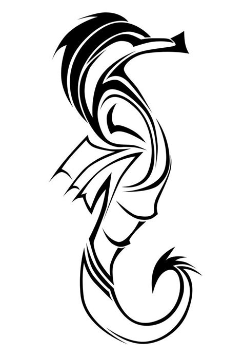 tribal thong tattoo seahorse tribal by malle1 on deviantart seahorse